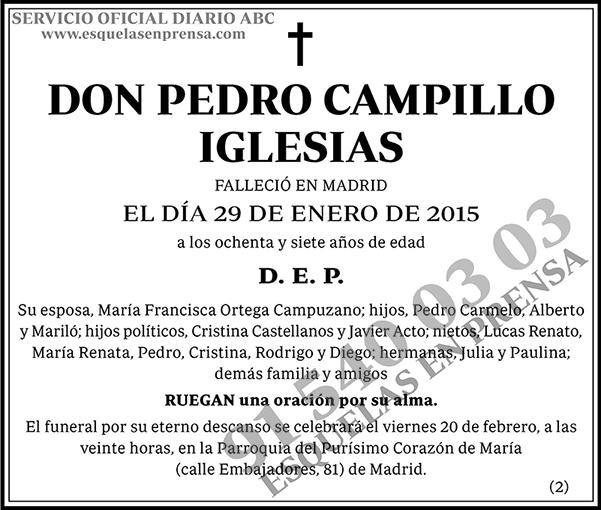 Pedro Campillo Iglesias